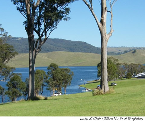 Lake St Clair or Glenbawn Dam